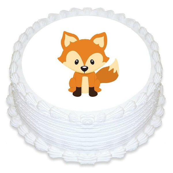 Fox Edible Cake Topper | Fox Cake | Fox Party Supplies