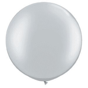 Giant Silver Balloons | Silver Party Supplies