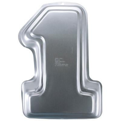 Number 1 Cake Tin Hire | 1st Birthday Party Supplies