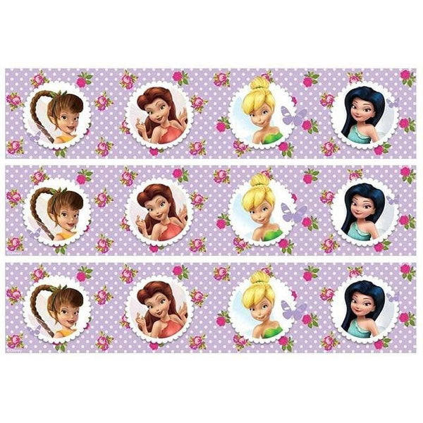 Disney Fairies Cake Strip Edible Images