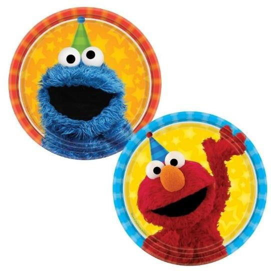 Sesame Street Plates - Lunch