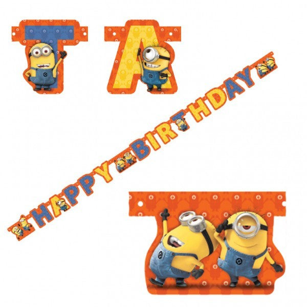 Minions Banner | Minions Party Supplies
