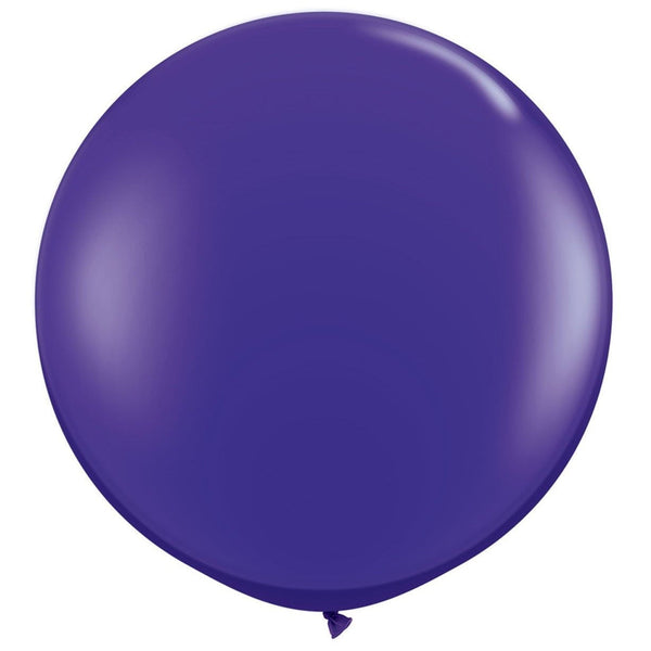 Giant Quartz Purple Balloon | Helium Balloons Wellington