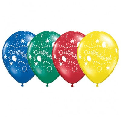 Congratulations Balloon | Helium Balloons Wellington