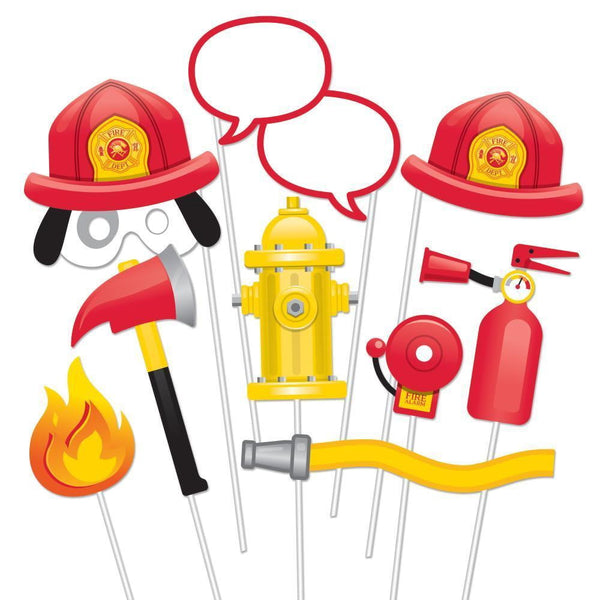 Fire Fighter Photo Props | Fire Fighter Party Supplies