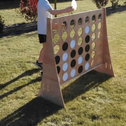 Giant Connect 4 Hire | Game Hire Wellington