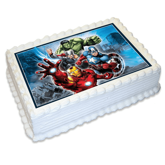 Avengers Edible Cake Image | Avengers Party
