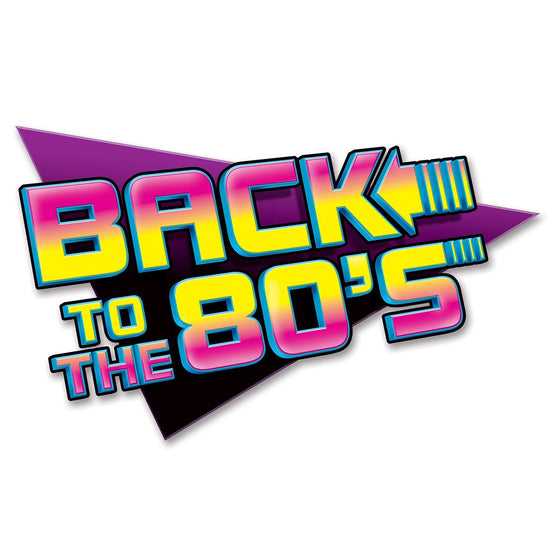 Back to the 80's Decoration | 80's Party Supplies