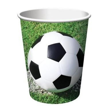 Party Creations | Soccer Cups | Soccer Party Theme & Supplies