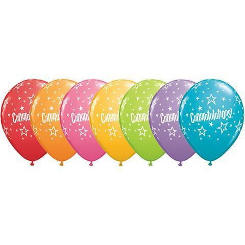 Qualatex | Congratulations Stars Balloon
