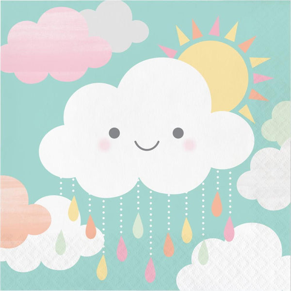 Sunshine Baby Showers Napkins | Baby Shower Supplies
