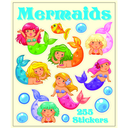 TNW | Mermaids Sticker Book | Mermaid Party Theme & Supplies