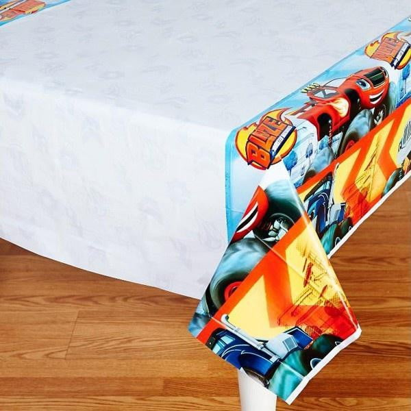 Blaze & the Monster Machines Tablecloth | Blaze & the Monster Machines Party