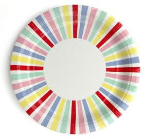 Rainbow Plates | Rainbow Party Theme and Supplies