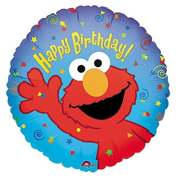 Elmo Foil Balloon | Elmo Party | Sesame Street Party
