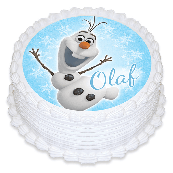 Frozen Olaf Edible Cake Image | Frozen Party Theme & Supplies