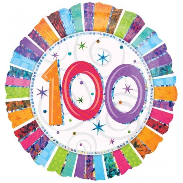 100th Birthday Balloon | 100th Birthday Party Supplies