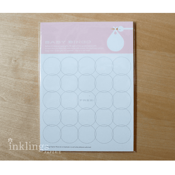 Baby shower bingo | Baby shower party theme and supplies