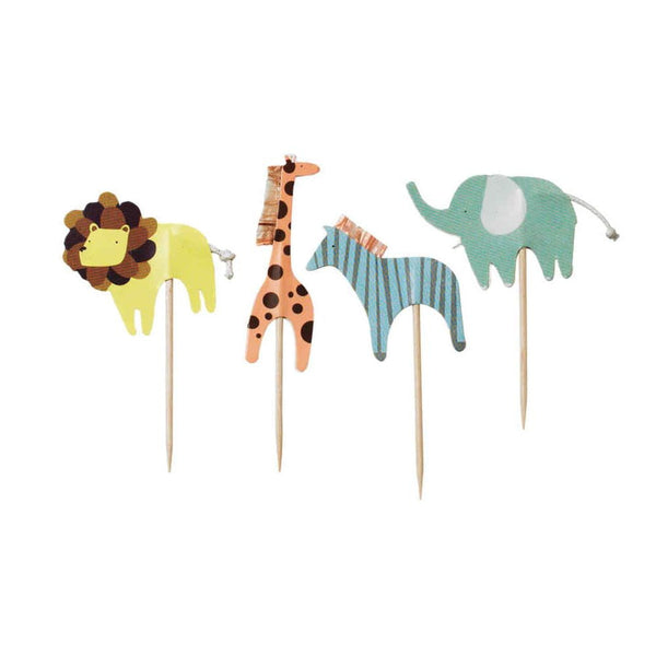 Animal Cupcake Toppers | Baby Shower Supplies