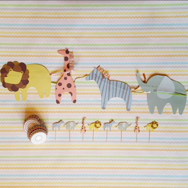 Baby Animal Decorations | Baby Shower Supplies