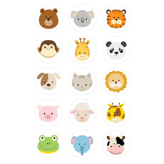Baby Animal Edible Cupcake Images