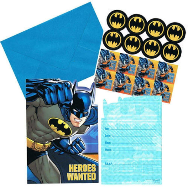 Batman Invitations | Batman Party Theme & Supplies