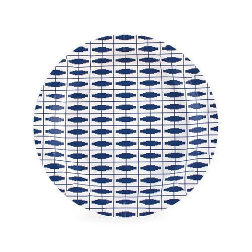 Paper Eskimo Naut so Navy Plates - Lunch