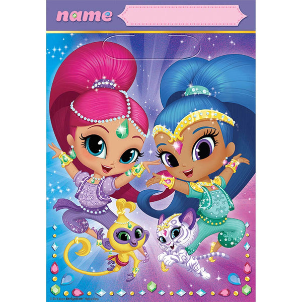 Shimmer and Shine Loot Bags | Shimmer and Shine Party Supplies