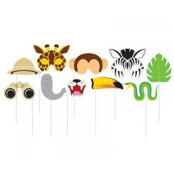 Jungle Safari Photo Booth Props