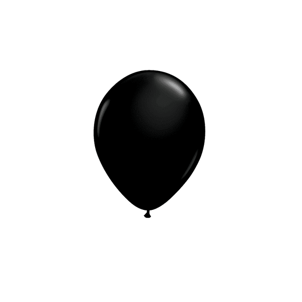 Qualatex | Onyx Black Mini Balloons