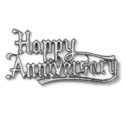 Happy Anniversary Cake topper | Anniversary Party Supplies