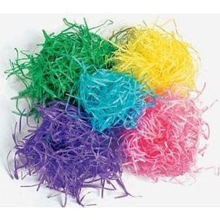 Plastic Shredded Grass | Easter Decorations