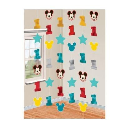 Amscan | Mickey Mouse Fun to be One String Decorations |