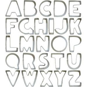 Alphabet Cookie Cutters | Kids Birthday Party Supplies