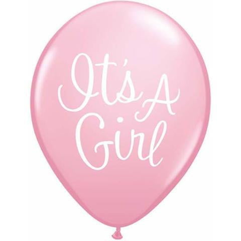 It's a Girl Balloon | Baby Shower Balloons | Gender Reveal Balloons