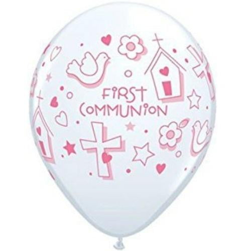 Qualatex | Girls 1st Communion Balloon