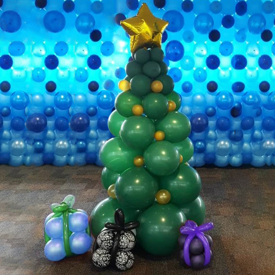 Christmas Tree Balloon Decoration | Christmas Party Decorations