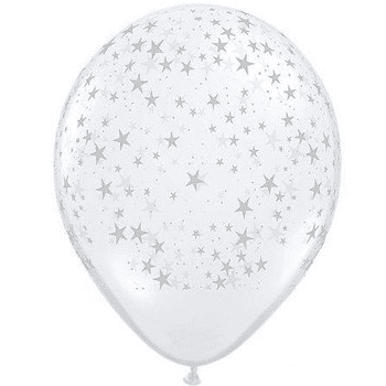 Clear Star Balloon | Space Party