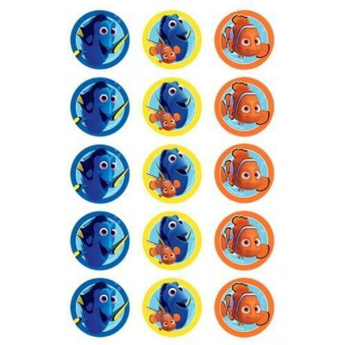Finding Dory Edible Cupcake Images | Finding Dory Party Theme & Supplies