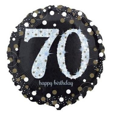 Anagram | Happy Birthday 70 Foil Balloon