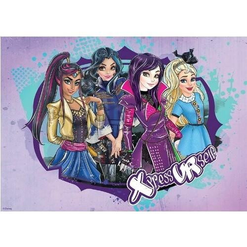 Disney Descendants Edible Cake Image - A4 Size