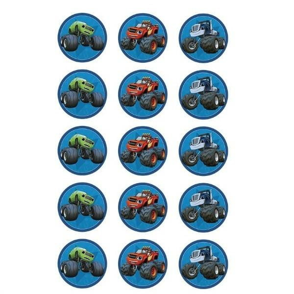 Blaze and the Monster Machines Cupcake Images