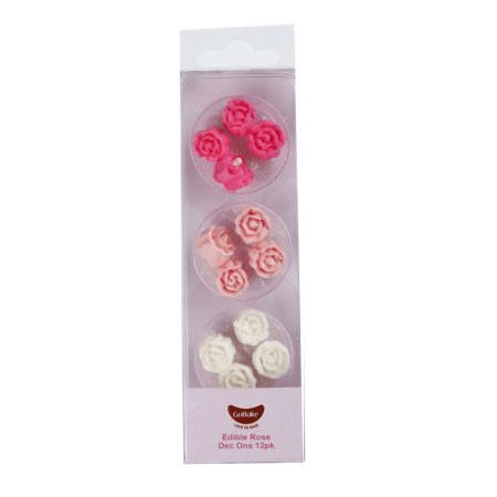 Edible Rose Decorations | Cake Decorating Supplies