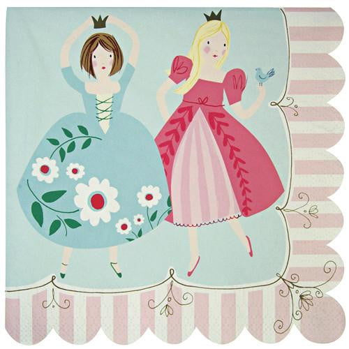 Meri Meri | Princess Napkins | Princess Party Theme and Supplies