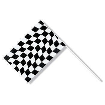 Plastic Racing Flag | Cars Party Theme and Supplies