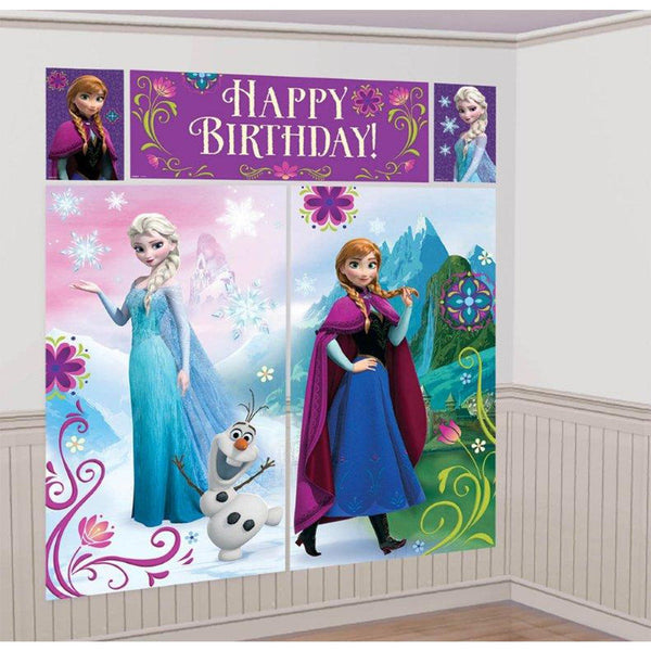 Disney | Frozen Scene Setter | Frozen Banner | Frozen Party Theme and Supplies