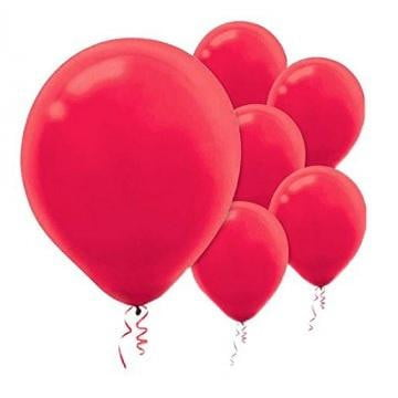Amscan | Value Balloons Pack of 15 - Apple Red