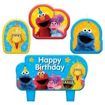 Amscan | Sesame Street Birthday Candle Set