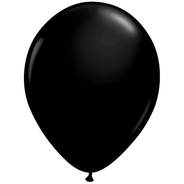 Qualatex | Onyx Black Balloon | Black Party Supplies