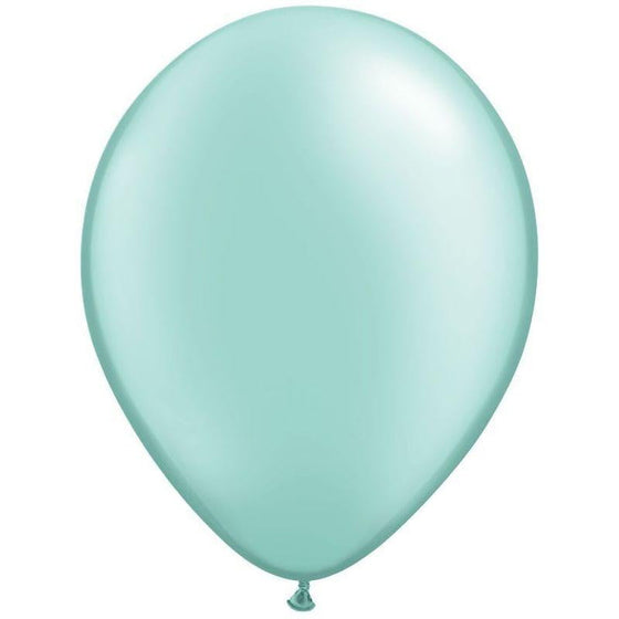 Qualatex | Pearl Mint Green Balloon | 21st Birthday Party Balloons
